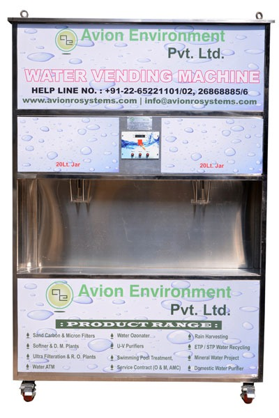 project report on water atm machine
